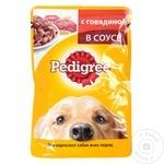 Hrana pentru caini Pedigree vita 100g