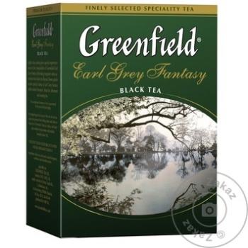 Ceai Greenfield negru infuzie cu bergamota 100g - cumpărați, prețuri pentru Metro - foto 1
