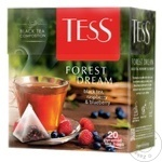 Чай Tess черный в пирамидках Forest Dream 20x1,8г
