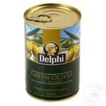 Măsline verzi cu sâmbure Delphi 420g