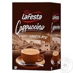 Капучино La Festa с шоколадом 10x12,5г