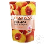 Жидкое мыло Fresh Juice (запаска) Персик/Магнолия 460мл