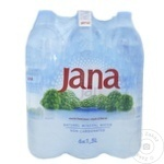 Минеральная негазированная вода Jana ПЭТ 6x1,5л