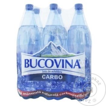 Apa minerala carbogazoasa Bucovina PET 6x1,5l - cumpărați, prețuri pentru Metro - foto 1
