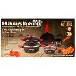 Набор посуды из гранита Hausberg 8 предметoв