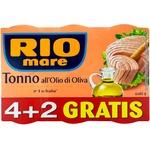 Тунец в оливковом масле Rio Mare 4+2 80г