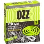Спираль Ozz от комаров 10шт