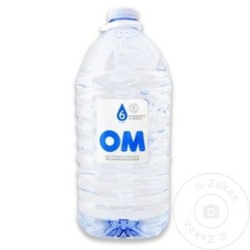 Apa potabila necarbogazoasa OM PET 6l - cumpărați, prețuri pentru Metro - foto 1