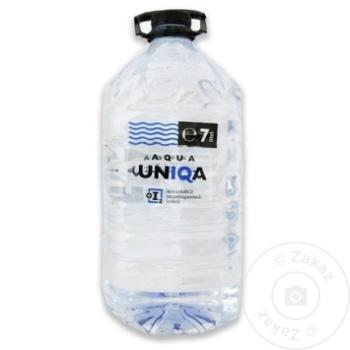 Apa potabila necarbogazoasa Aqua Uniqa PET 7l - cumpărați, prețuri pentru Metro - foto 1