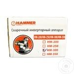 Инверторный cварочный аппарат Hammer 220В/50Hz 300A