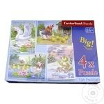Puzzle Castorland 4in1