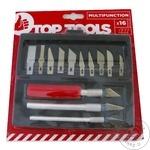 Ножи технические Top Tools набор 16шт