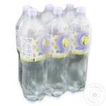 Столовая негазированная вода Aqua Uniqa Plus лимон 6х1,5л