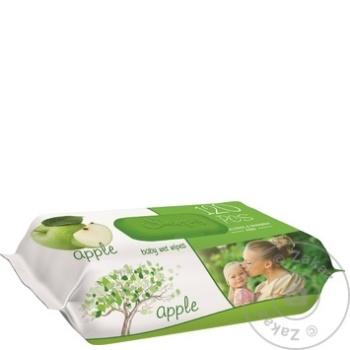 Servetele umede Sleepy Apple 120buc - cumpărați, prețuri pentru Metro - foto 1