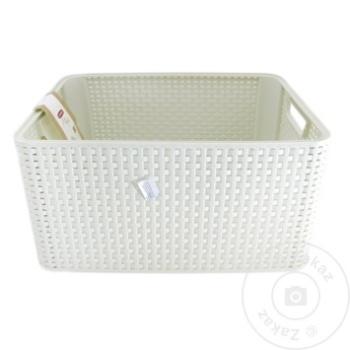 Ящик для хранения Style 43х32х23см - купить, цены на Метро - фото 3