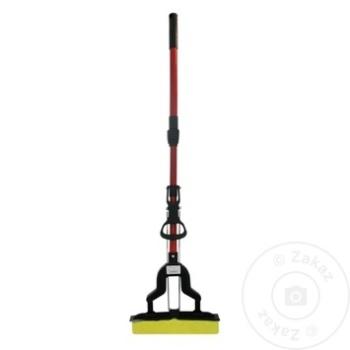 Швабра с телескопической ручкой 110см - купить, цены на Метро - фото 3