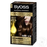Краска для волос Syoss Oleo Intense 4-18 шоколадный каштановый