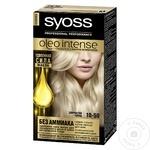 Краска для волос Syoss Oleo Intense 10-50 дымчатый блонд