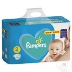 Подгузники Pampers Active Baby 4-8кг Nr.2 100шт