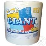 Полотенца бумажные Cleany Giant 2 слоя 240м