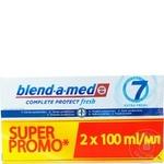 Pasta de dinti Blend-A-Med Fresh 2x100ml