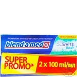 Зубная паста Blend-A-Med Mint 2x100мл