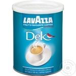 Молотый кофе Lavazza decofeinizata 250г