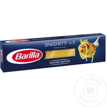 Spaghetti Nr.5 Barilla 450g - cumpărați, prețuri pentru Metro - foto 1