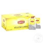 Ceai Lipton Yellow Label negru in plicuri 50x2g