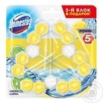 Средство для унитаза Domestos Lemon 3x55г