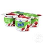 Йогурт Yoli с вишней 1,5% 115г