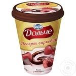 Десерт творожный Dolce вишня с шоколадом 400г