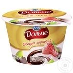 Десерт творожный President клубника-киви-шоколад 200г