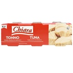 Тунец Chiara в подсолнечном масле 3x80г