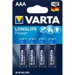 Батарейки VARTA LONGLIFE POWER AAA 4шт