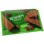 Вафли Roshen со вкусом шоколада 72г
