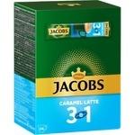 Cafea solubila Jacobs 3in1 caramela 24x12,3g