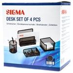 Подставки для стола Sigma чёрная 4шт