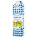 Молоко Селянское ультрапастеризованное 2,5% 0,95л