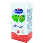 Молоко Савушкин 3,1% 1л