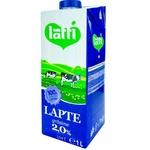 Молоко UHT Latti 2% 1л
