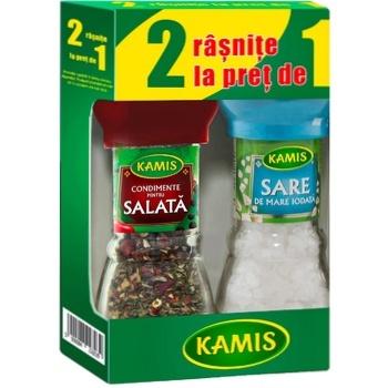 Специй для салата Kamis в мельнице 38г + Соль в подарок - купить, цены на Метро - фото 2