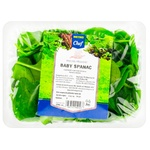 Салат бэйби шпинат Metro Chef 100г