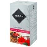 Чай Rioba Фрукты в пакетиках 25x2г