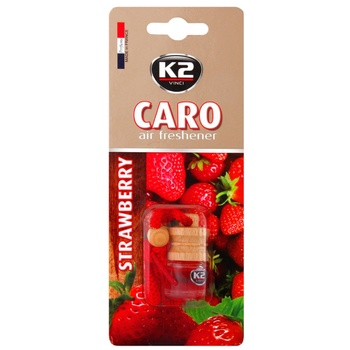 K2 ODORIZANT AUTO CARO 4ML - купить, цены на Метро - фото 1