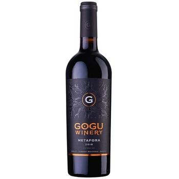 Вино красное Metafora Alta Gogu 0,75л - купить, цены на Метро - фото 1