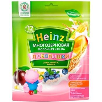 Каша Heinz чернослив/абрикос/черника 200г - купить, цены на Метро - фото 1