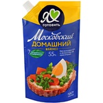 Майонез домашний Московский Провансаль 55% 400мл
