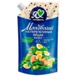 Майонез Московский на перепелиных яйцах 67% 600мл
