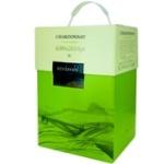Вино Bostavan Chardonnay белое полусладкое bag in box 3л